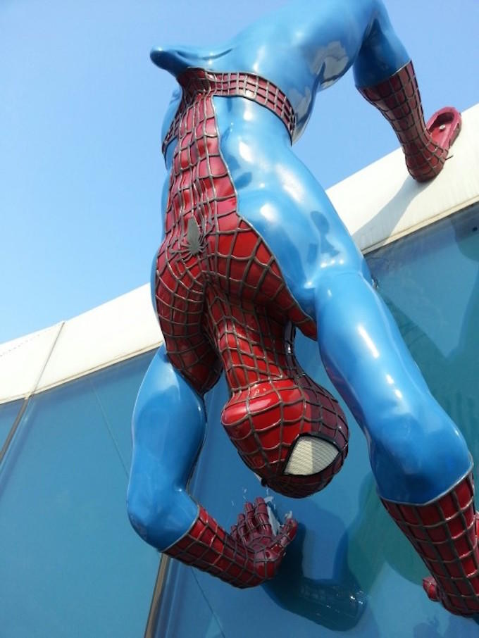 South Korean Hospital Buy Spiderman Boner Statue fgvokdbi50hsgw2gkg5y