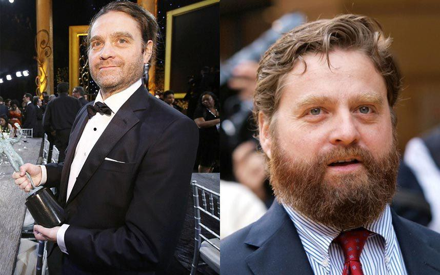 Zach Galifianakis Was Almost Unrecognisable At The SAG Awards zach beard 3176986k