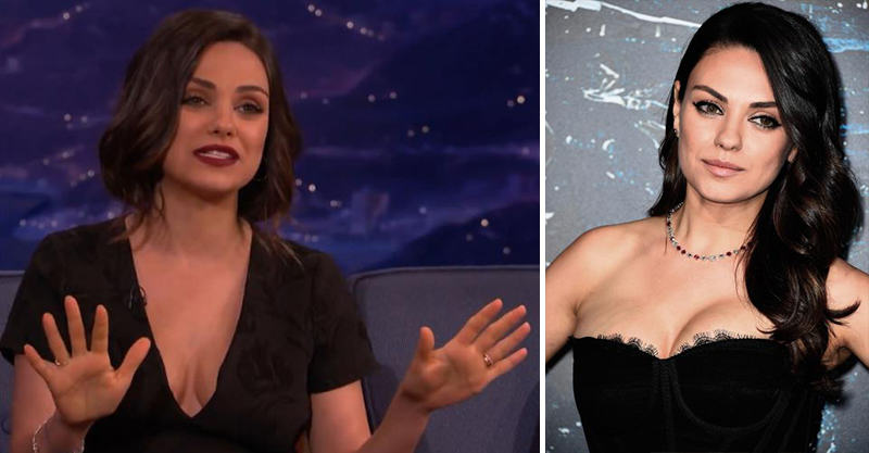 114 Mila Kunis Cant Deal With Her New Post Baby Boobs