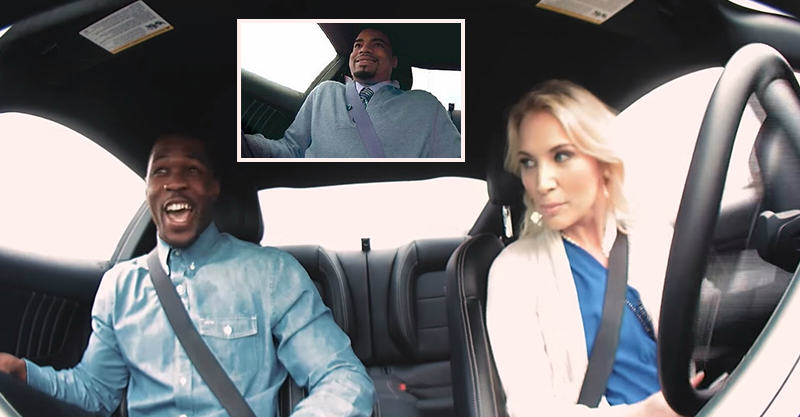 Unsuspecting Men Go On Blind Date With Hot Stunt Driver 123