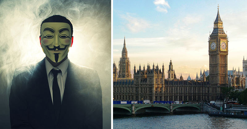131 Anonymous To Storm The Homes Of Westminster Paedophiles