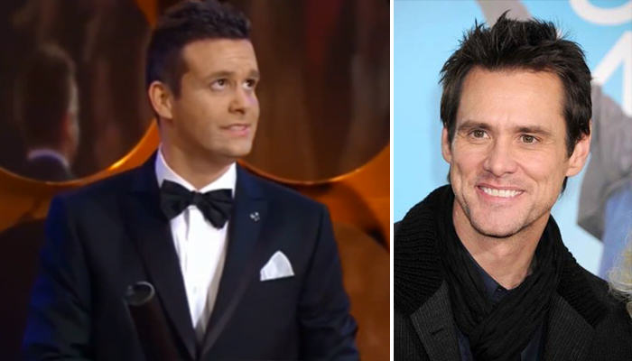 156 Czech Awards Show Think Jim Carrey Lookalike Is Actually Him