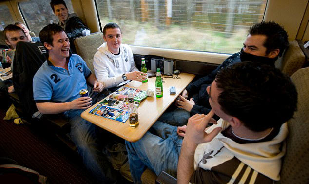 25EE45EE00000578 2963431 image a 35 1424565147071 Plans To Ban Alcohol On All UK Trains Could Become Reality