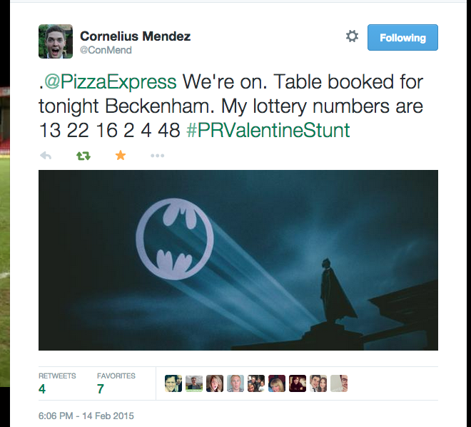 51 Lad Goes On Pizza Express Date Dressed As Batman For A Bet