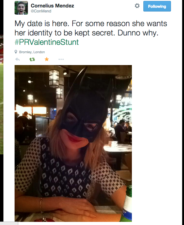 9 Lad Goes On Pizza Express Date Dressed As Batman For A Bet
