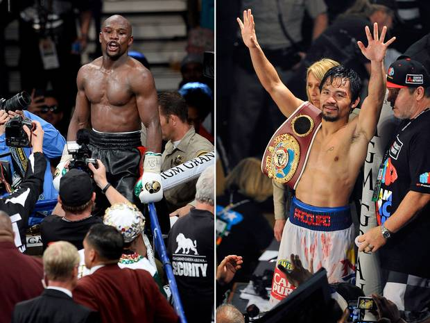 MayPac Floyd Mayweather Vs Manny Pacquiao Is Going Down In Las Vegas