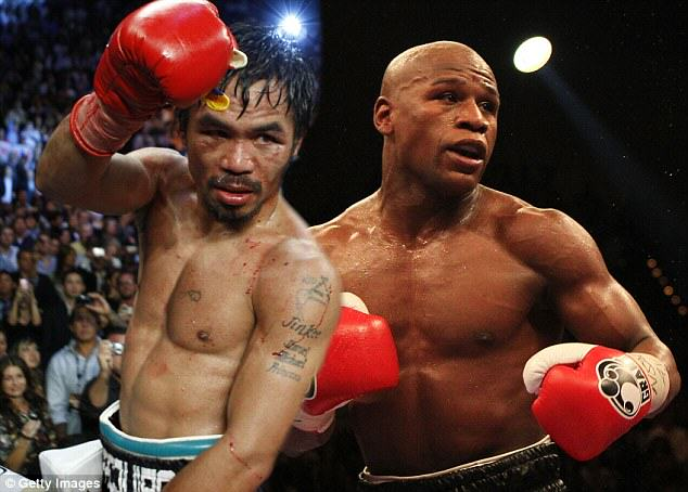 Mayweather Pac Floyd Mayweather Vs Manny Pacquiao Is Going Down In Las Vegas