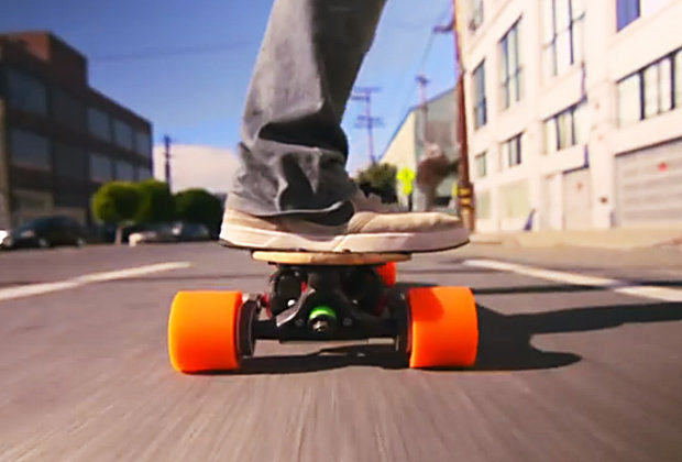 The boosted board has a top speed of 22mph 425485 Fancy A Ride On The Closest Thing To A Hover Board?
