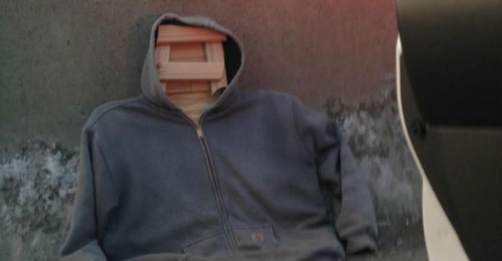 Wooden Elite Daily Man Caught Driving In A Carpool Lane With A Plank Of Wood In A Hoodie