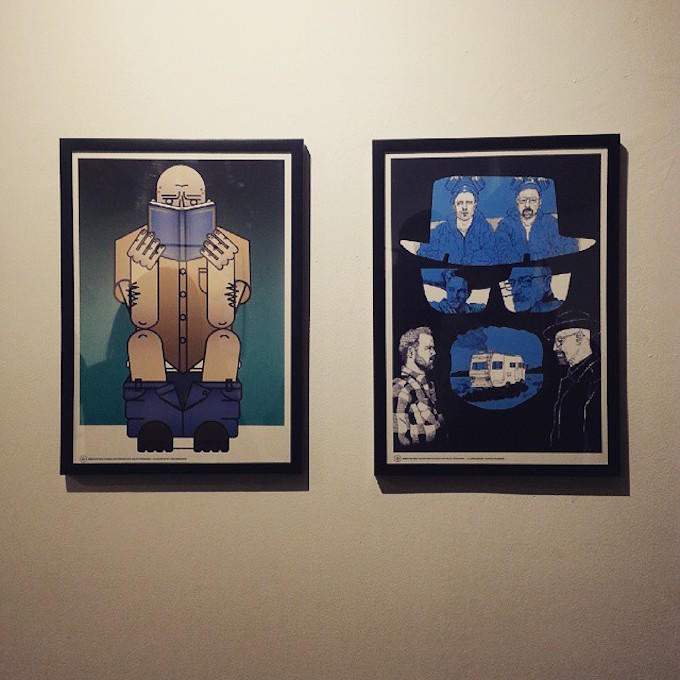 Artist Recreates Breaking Bad Characters In This Exhibition e3paoeavg8lzjufejiea