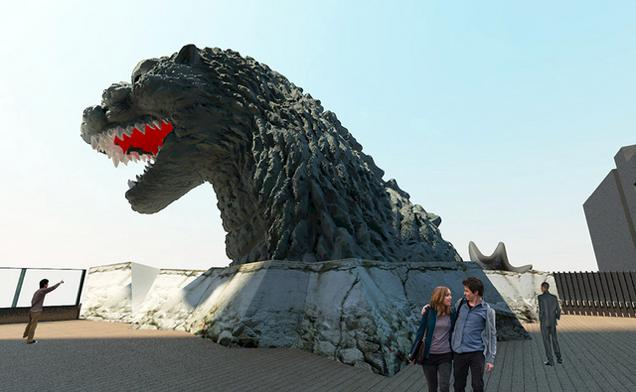 godzilla3 There Is A Godzilla Themed Hotel Opening In Japan