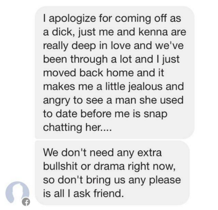 holy mother of crazy ex boyfriend 4 This Guy Goes Mental At A Lad For Snapchatting His Ex