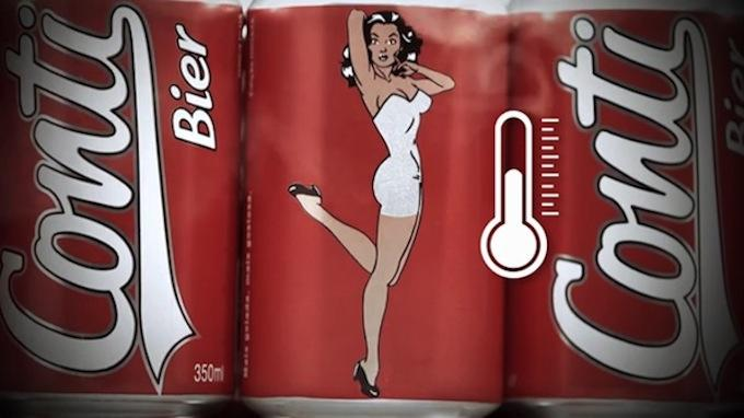 ocszhiifqri3ilcd3esa The Girl On This Beer Can Stripteases The Colder It Gets