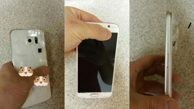 Photos Of Samsungs Galaxy S6 Leak Online Days Before Reveal samsung