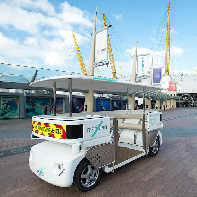 shuttle Driverless Cars Are Now Being Tested In UK Cities