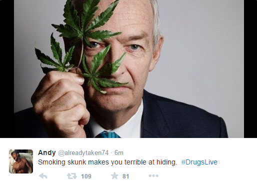 1 Twitter Reacts To Channel 4 Drugs Live Show About Cannabis