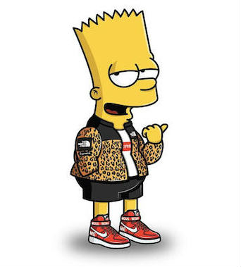 Characters From The Simpsons Get A Solid Streetwear Makeover 21
