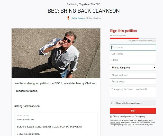 2689569400000578 2988412 image m 20 1426075529864 The Internet Reacts To Jeremy Clarksons Suspension