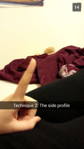 This Girl Made A Snapchat Guide To Taking A Dick Pic 3