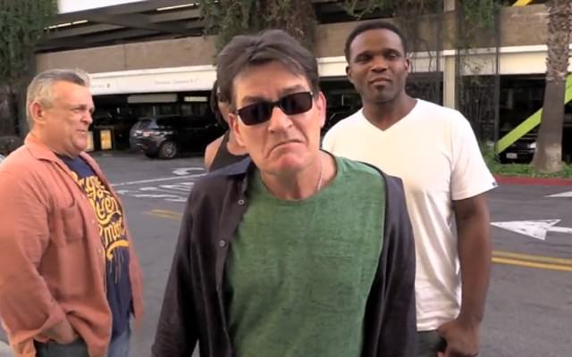 CharlieSheenwebsite 640x400 Charlie Sheen Threatens Two And A Half Men Producer