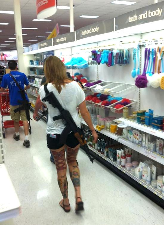 Open Carry In Michigan Its Perfectly Legal To Stroll Around With An Assault Rifle