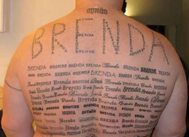 brenda Guy Gets Sacked Because Of His Tattoo Of His Girlfriends Name... ISIS