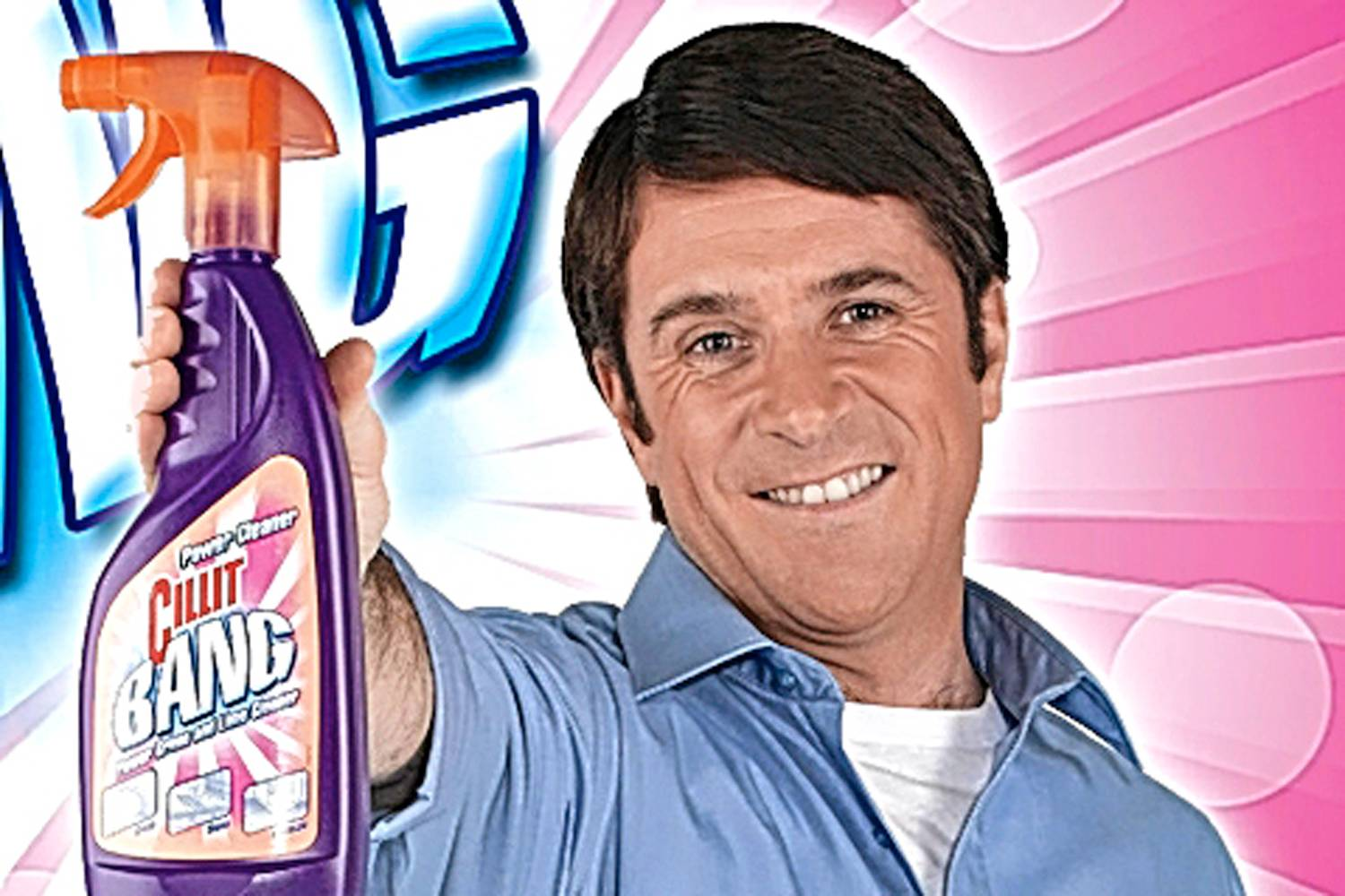 The Rise And Fall Of Barry Scott, A Cleaning Product Icon cillit bang