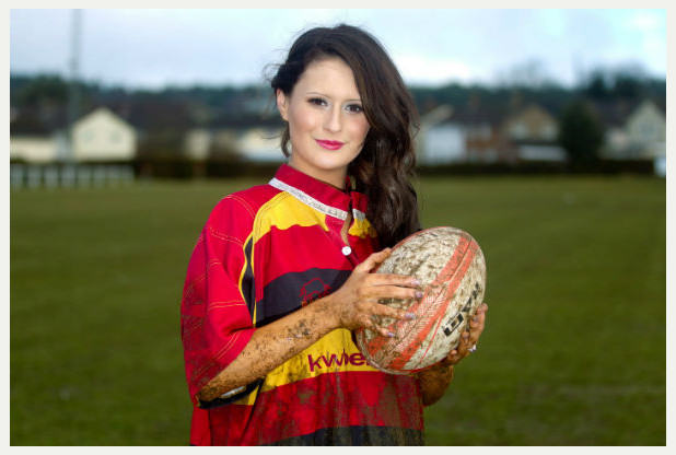 rugby Rugby Lass Turned Beauty Queen Beats The Bullies In The Best Way