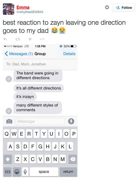 screen shot 2015 03 25 at 4 39 33 pm Dads React To Zayn Malik Leaving One Direction