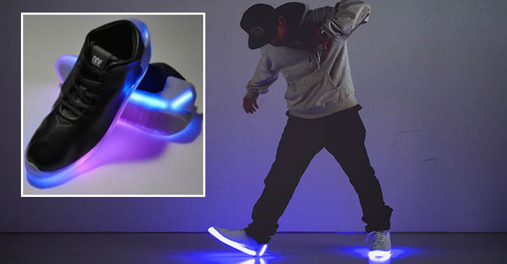 These Light Up Trainers Will Definitely Get You Noticed thumbn1
