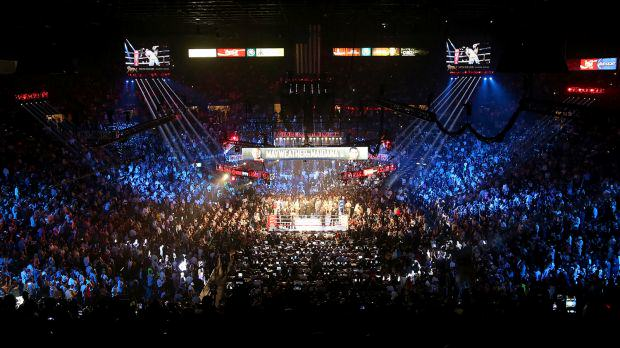Mayweather Vs Pacquiao Tickets Sell Out In Less Than A Minute 042215 BOXING MGM Grand Garden Arena Floyd Mayweather Jr vs Marcos Maidana MM PI.vadapt.620.high .0