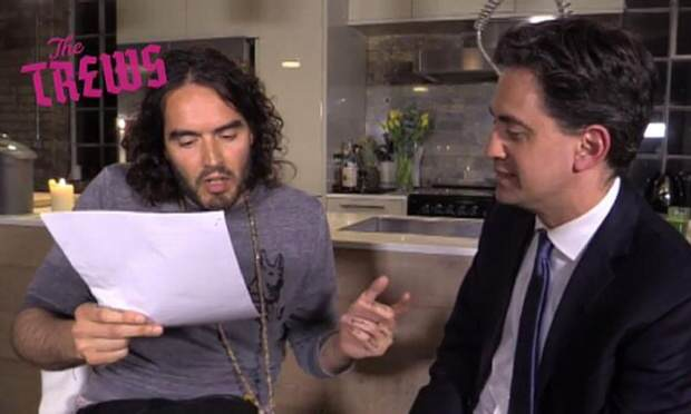 1000 The Ed Miliband And Russell Brand Interview That Has Old Media Wound Up