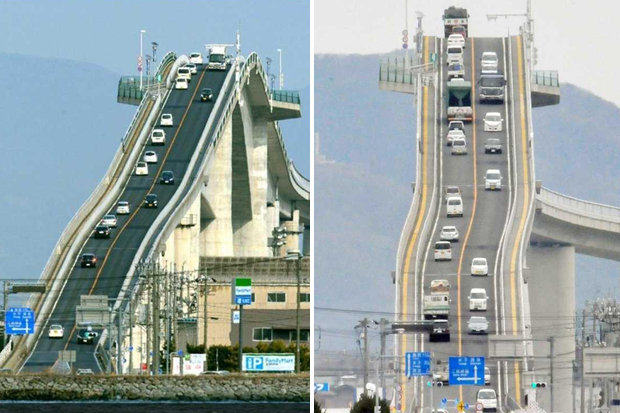1128 This Bridge In Japan Is Absolutely Ridiculous