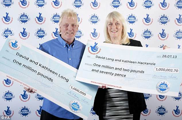 Jammiest Couple In World Win The EuroMillions For SECOND Time 27325FCD00000578 3021308 image m 34 1427891730023