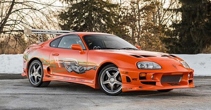 TN13 Paul Walkers Toyota Supra From Original Fast Film Up For Sale