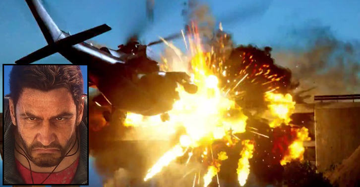 TN130 The New Reveal Trailer For Just Cause 3 Is Beautifully Chaotic