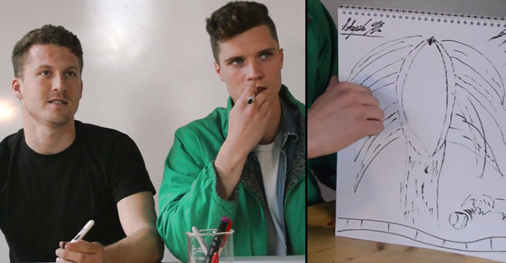 TN140 These Lads Describe And Draw Their Ideal Vaginas