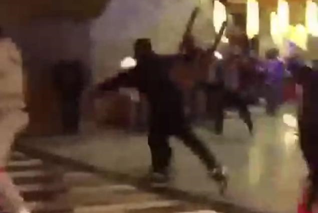 Gang Members Involved In Mass Brawl At Casino In Queens gang1 635x426