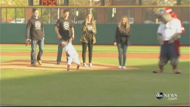 jack Kid Gets Iron Man Like Prosthetic Hand, Throws First Baseball Pitch With It