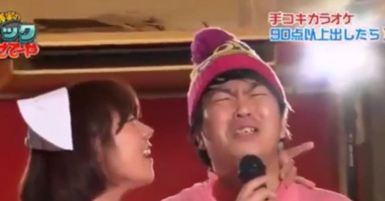 Men Get Handjobs While Singing Karaoke Because Japanese Game Shows japan1