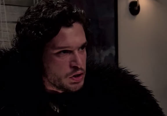 jonsnowWEBTHUMBNEW Seth Meyers Brought Jon Snow To A Dinner Party And It Didnt Go Down So Well