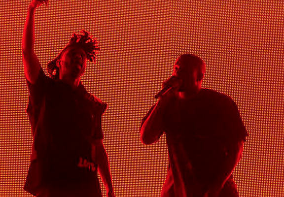 Kanye Gives A Surprise Concert At Coachella, The Crowd Goes Wild kanyeWEBTHUMBNEW1