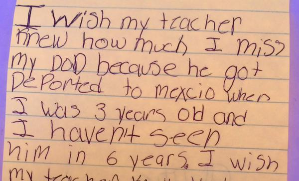 kids1 Teacher Asks Kids To Write What They Wished She Knew, Replies Will Break Your Heart
