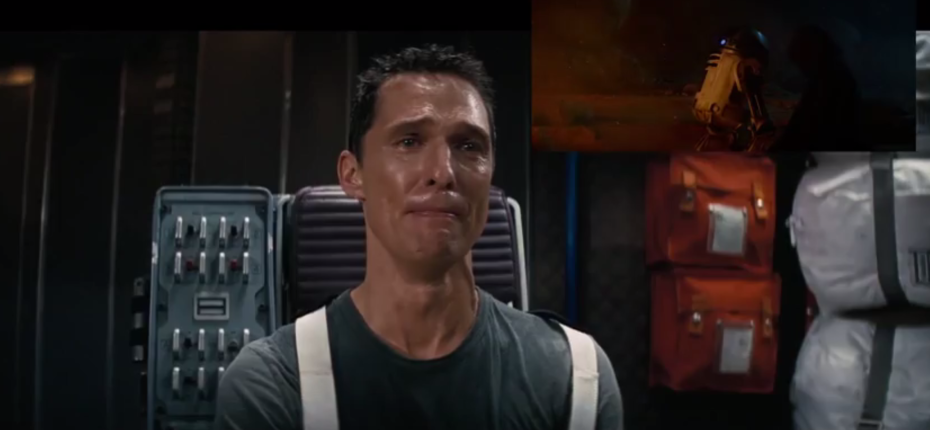 mm Matthew McConaughey Sees New Star Wars Trailer, Loses The Plot Totally