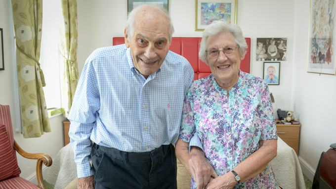 Couple With A Combined Age Of 194 Set To Become Worlds Oldest Newlyweds newlyweds2