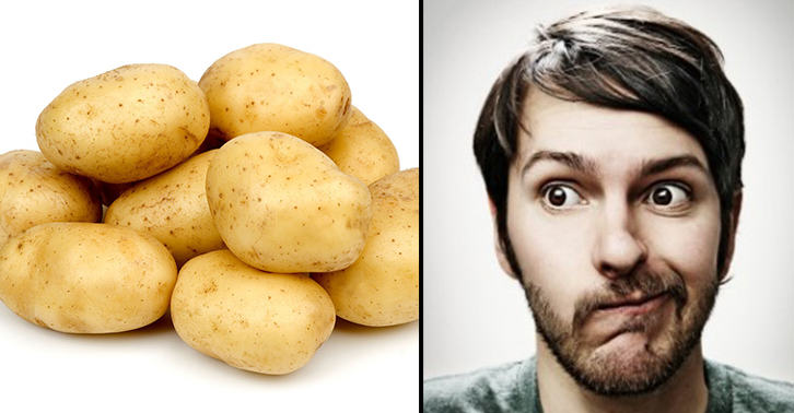 okijuhyg This Lad Ruined His Relationship... With Potatoes