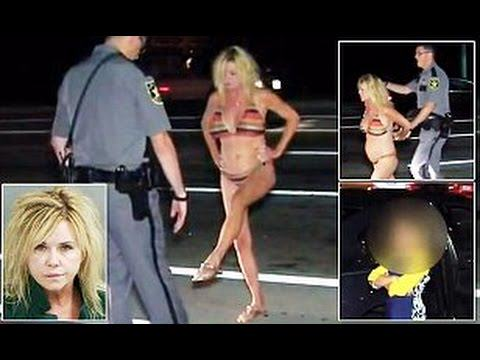 ranny1 Granny Drives Drunk With Grandson In Car, Gets Pulled Over Only Wearing Bikini