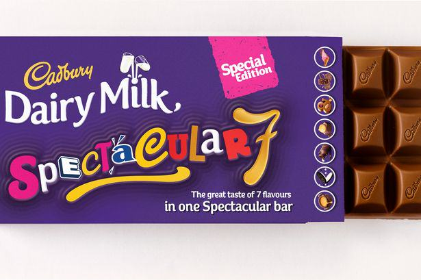 New Dairy Milk Bar Has Seven Different Fillings And My Mouth Is Watering seven dm