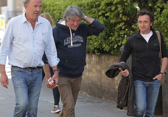 topgearWEBTHUMBNEW Recovered Jeremy Clarkson, James May And Richard Hammond Reunite For First Time Since Fracas