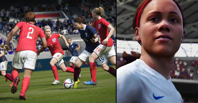 1148 Official FIFA 16 Trailer Drops, Womens National Teams Are IN